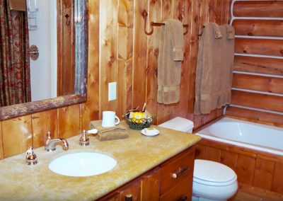 Ennis Homestead Bathroom