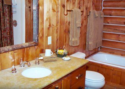 Ennis Homestead Bathroom
