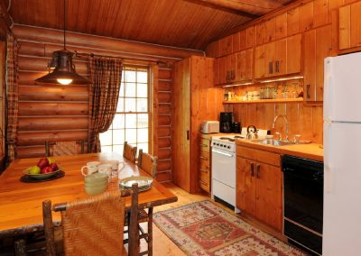 Madison Cabin Dining Kitchen