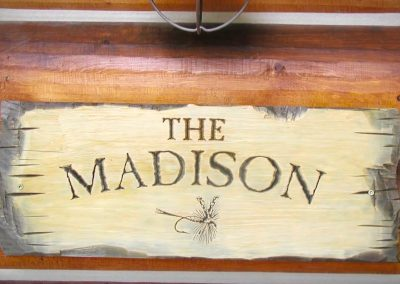Madison Fly Fishing Cabin