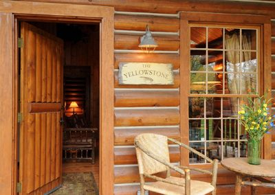 The Yellowstone Log Cabin Home Rental