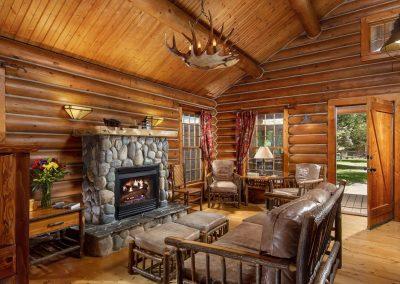 Ennis Homestead Yellowstone Log Cabin